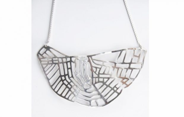 amsterdam necklace silver
