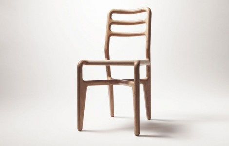 streamlined chair naturel OODE