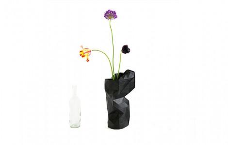 paper vase pepe heykoop
