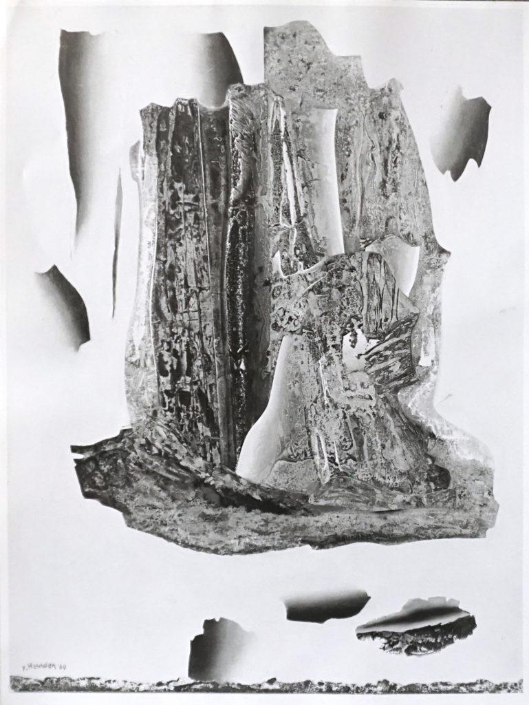 W. v. Heusden - Compositie in grijzen no I